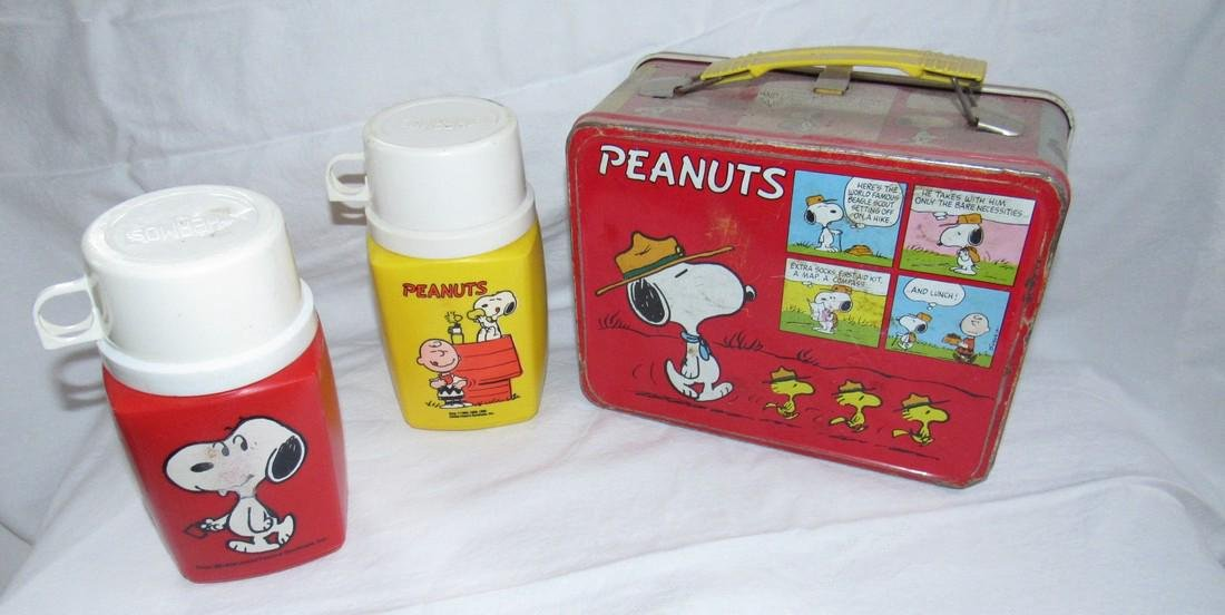 Peanuts Lunchbox & Thermos