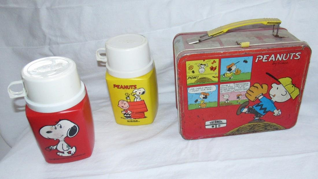 Peanuts Lunchbox & Thermos - 2