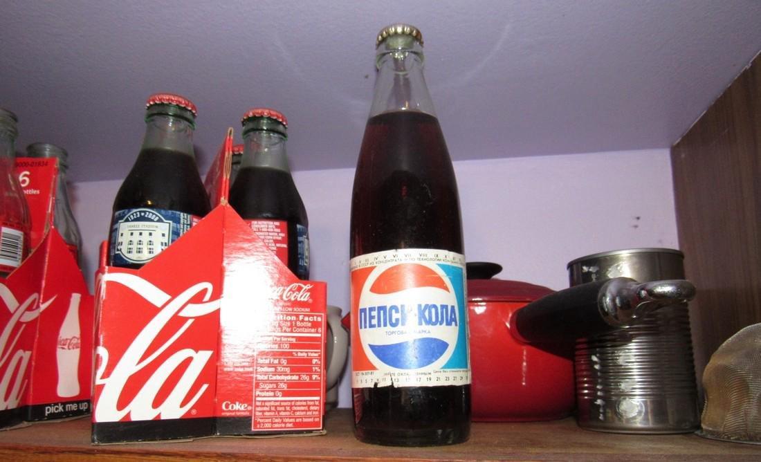 Shelf Lot Coca Cola & Pepsi Bottle - 2
