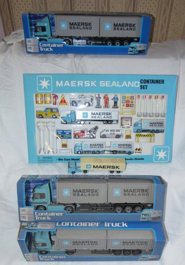 Maersk Sealand Container Die Cast Toy Lot