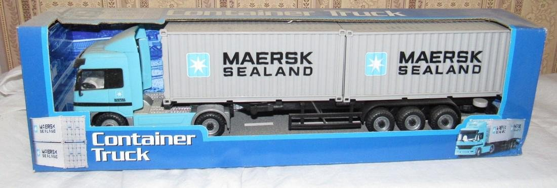 Maersk Sealand Container Die Cast Toy Lot - 2