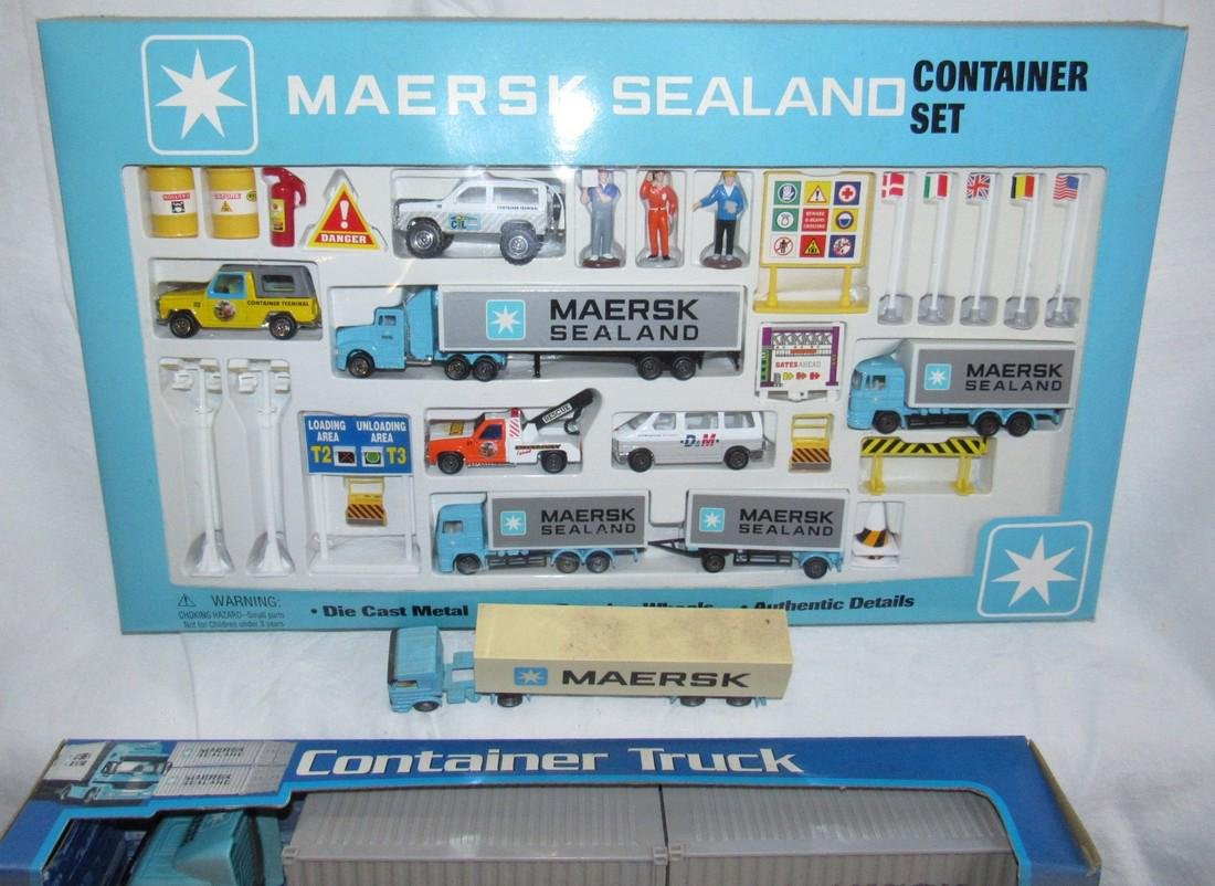 Maersk Sealand Container Die Cast Toy Lot - 5