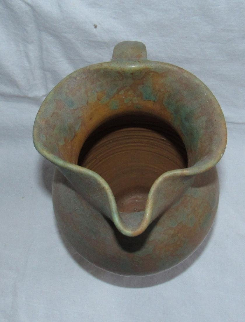 Antique Pottery Pitcher - 2
