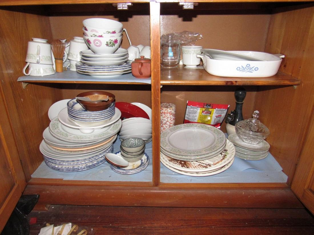Oriental Glassware Dishes & Misc