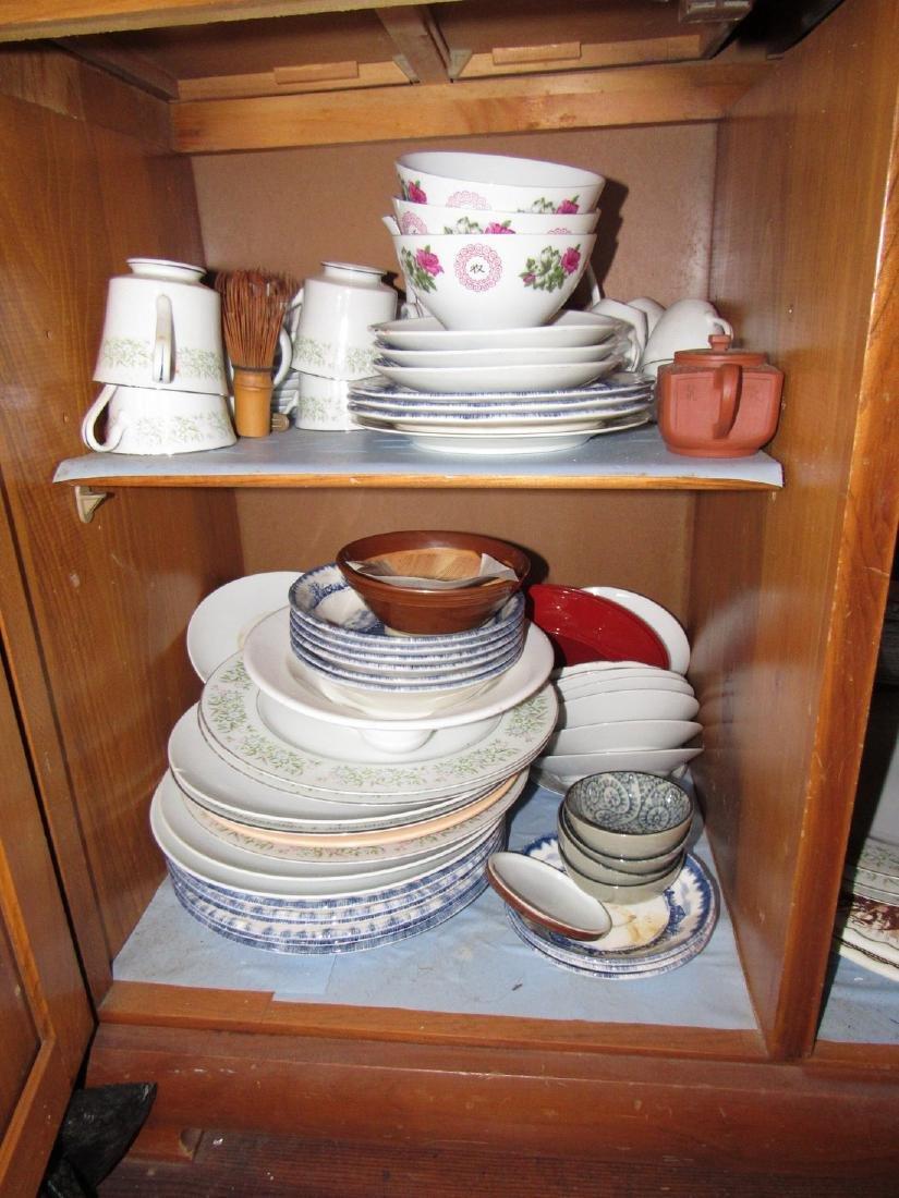 Oriental Glassware Dishes & Misc - 2