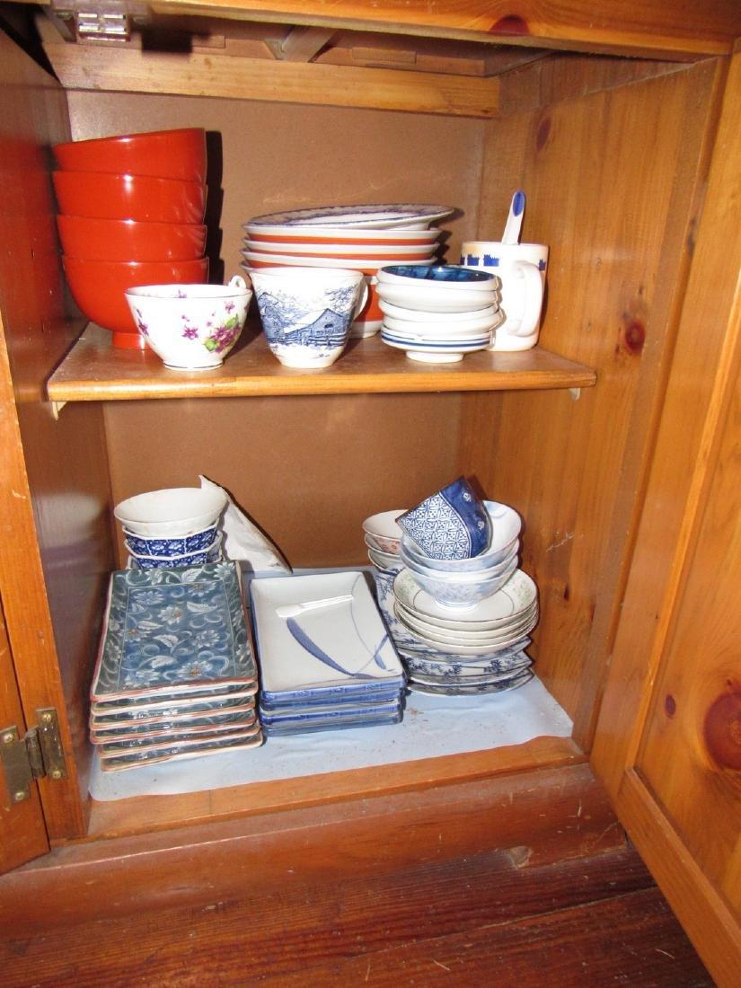 Oriental Glassware Dishes & Misc - 4
