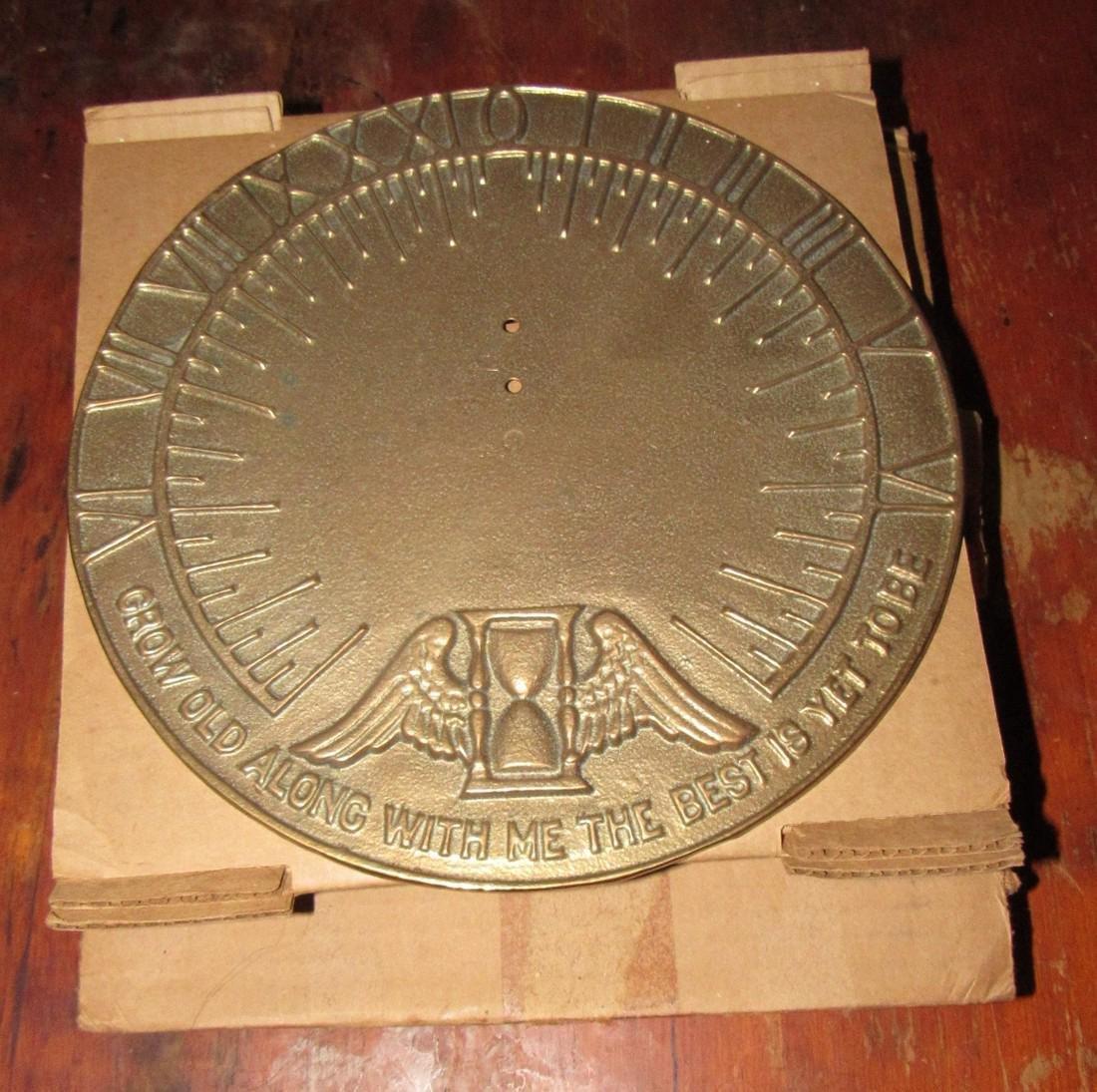Brass Replogle Globes Sundial