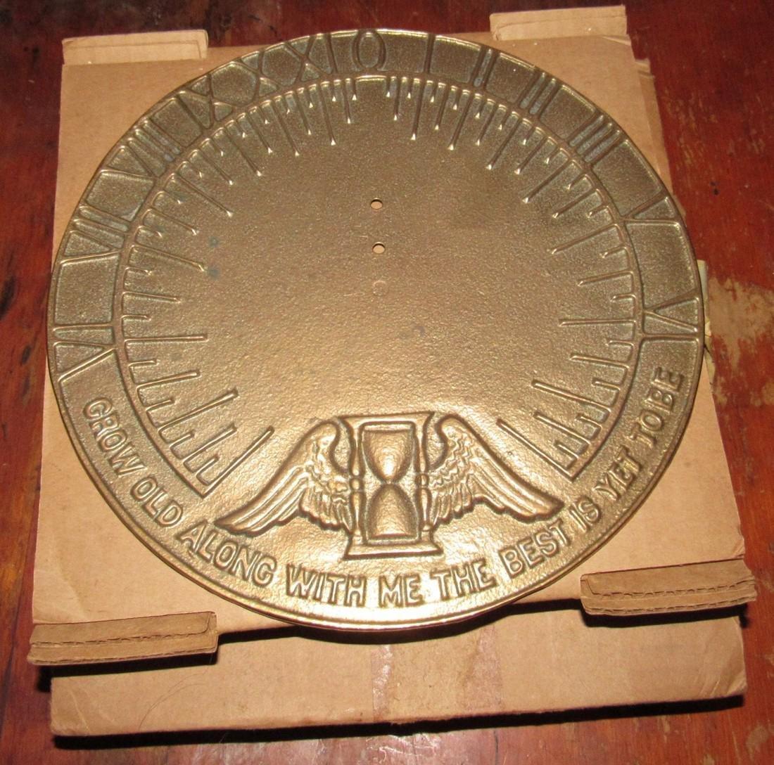 Brass Replogle Globes Sundial - 2