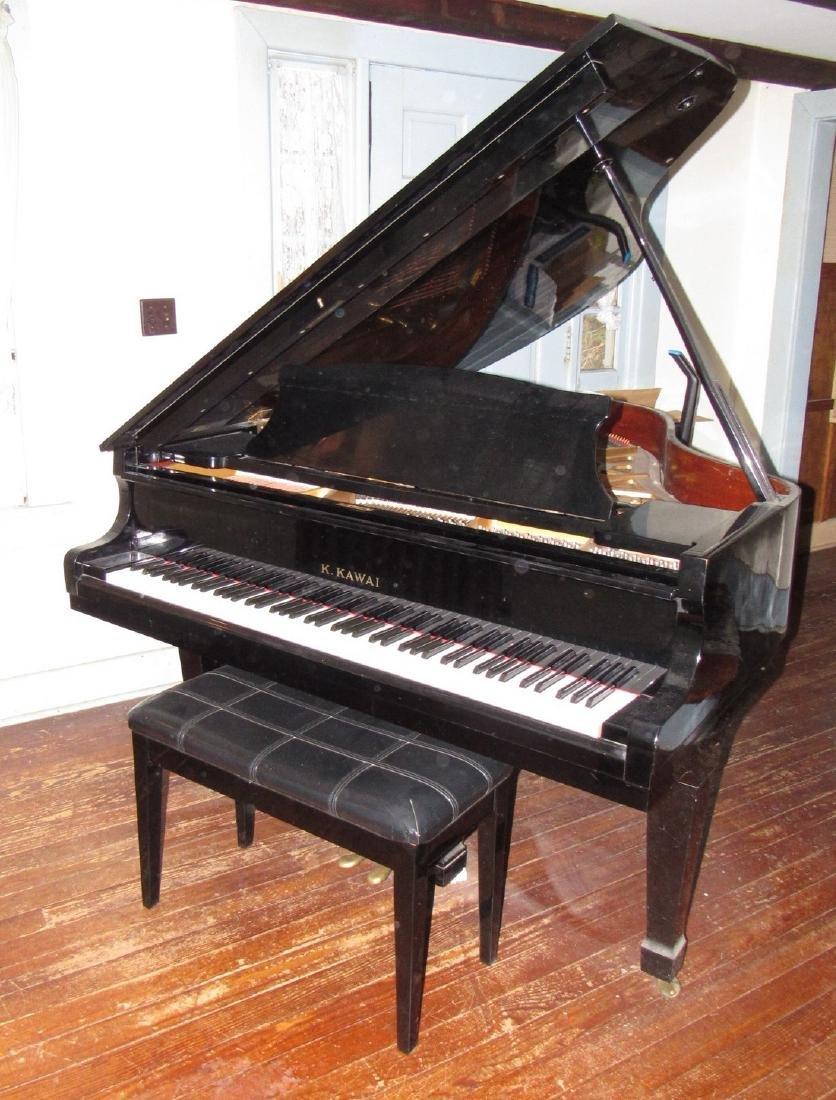 K. Kawai KG-2C Living Grand Piano Black