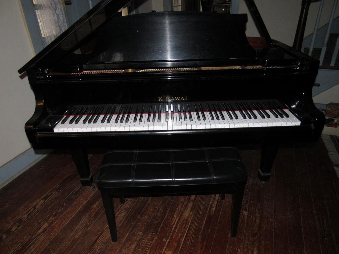 K. Kawai KG-2C Living Grand Piano Black - 2