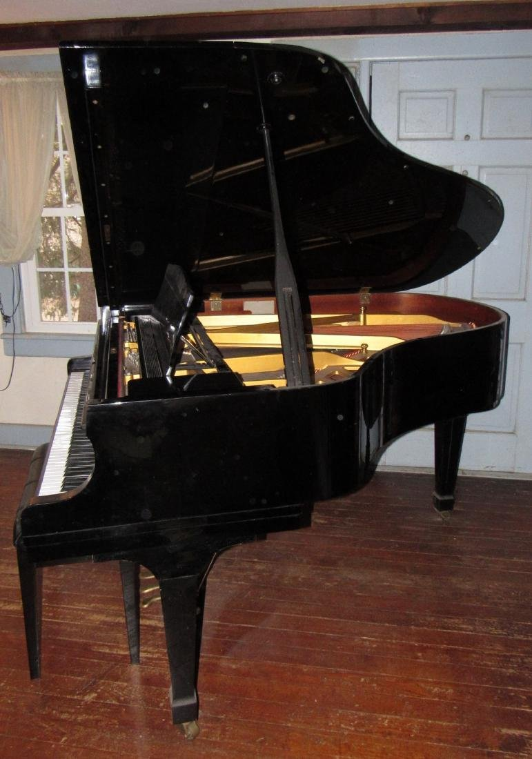 K. Kawai KG-2C Living Grand Piano Black - 4