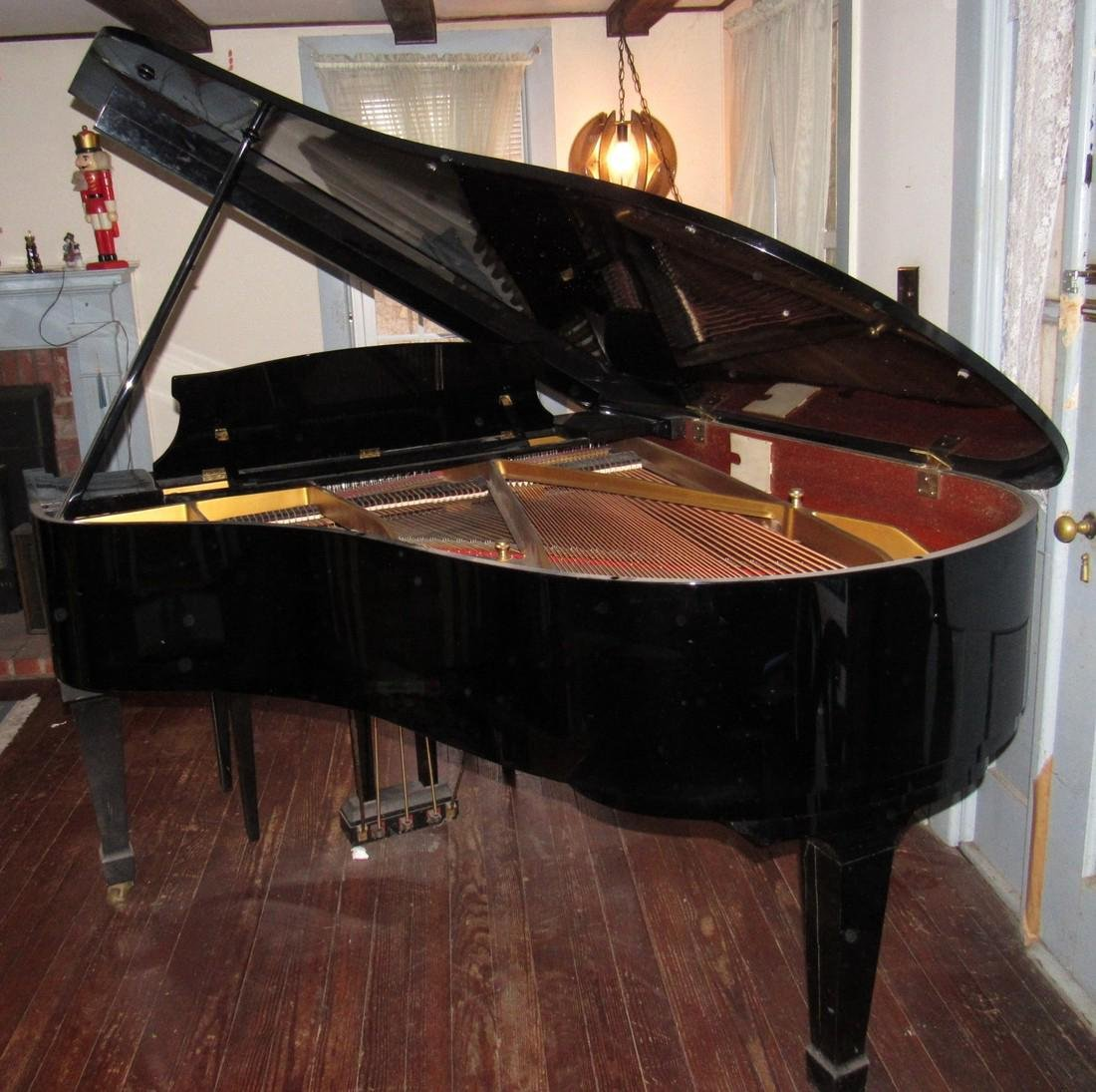 K. Kawai KG-2C Living Grand Piano Black - 5