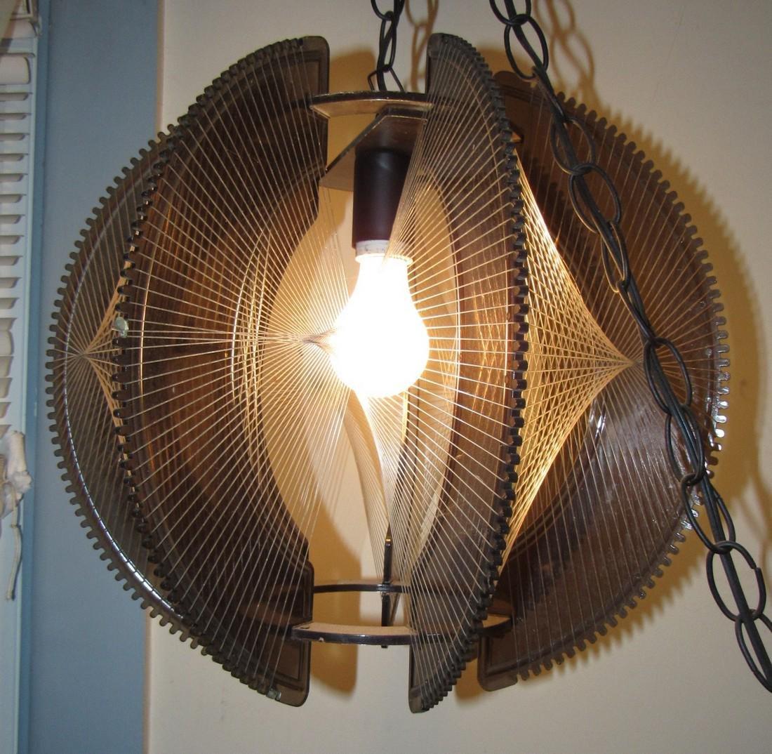 Vintage Mid Century Modern Lamp - 2