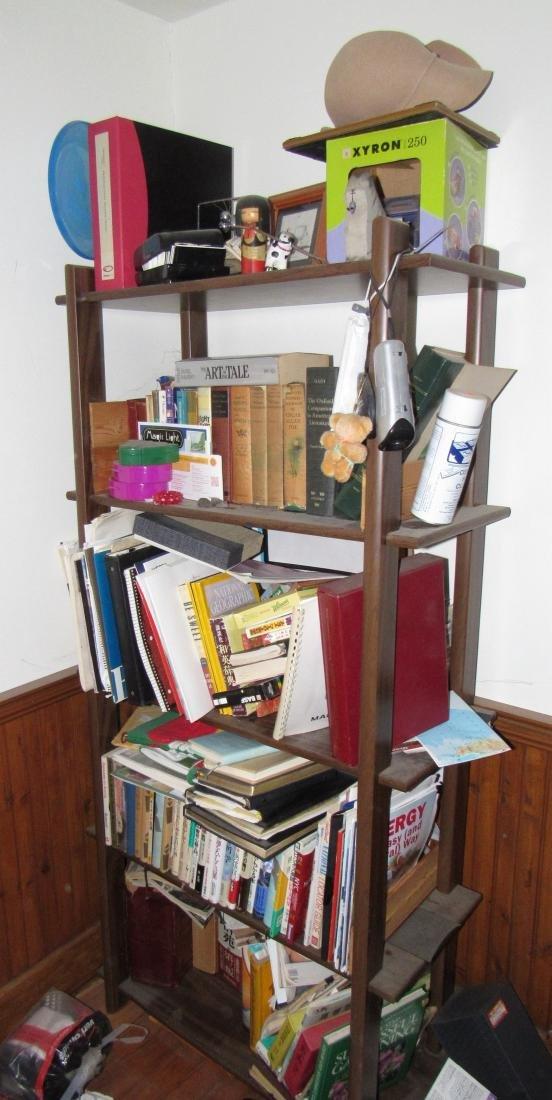 Books & Shelf Including Oriental