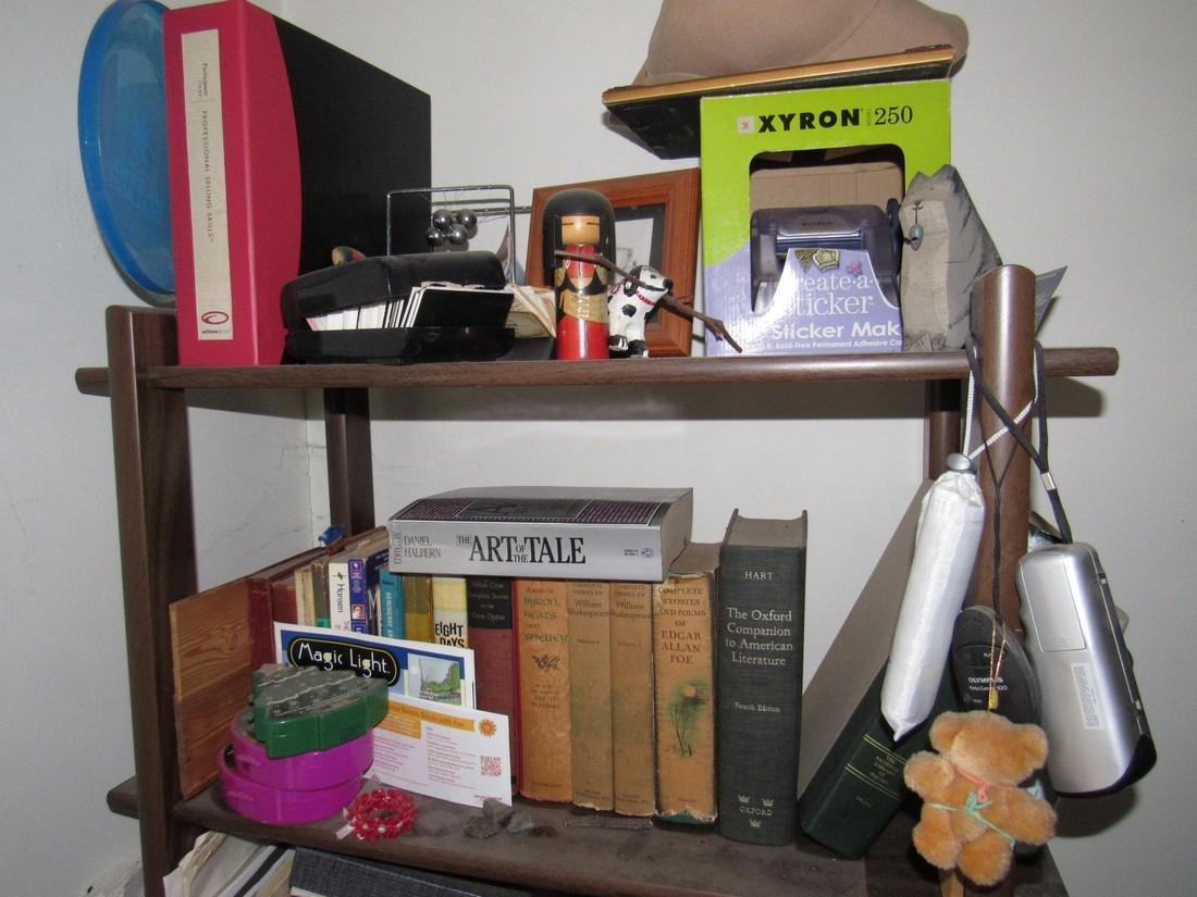 Books & Shelf Including Oriental - 2
