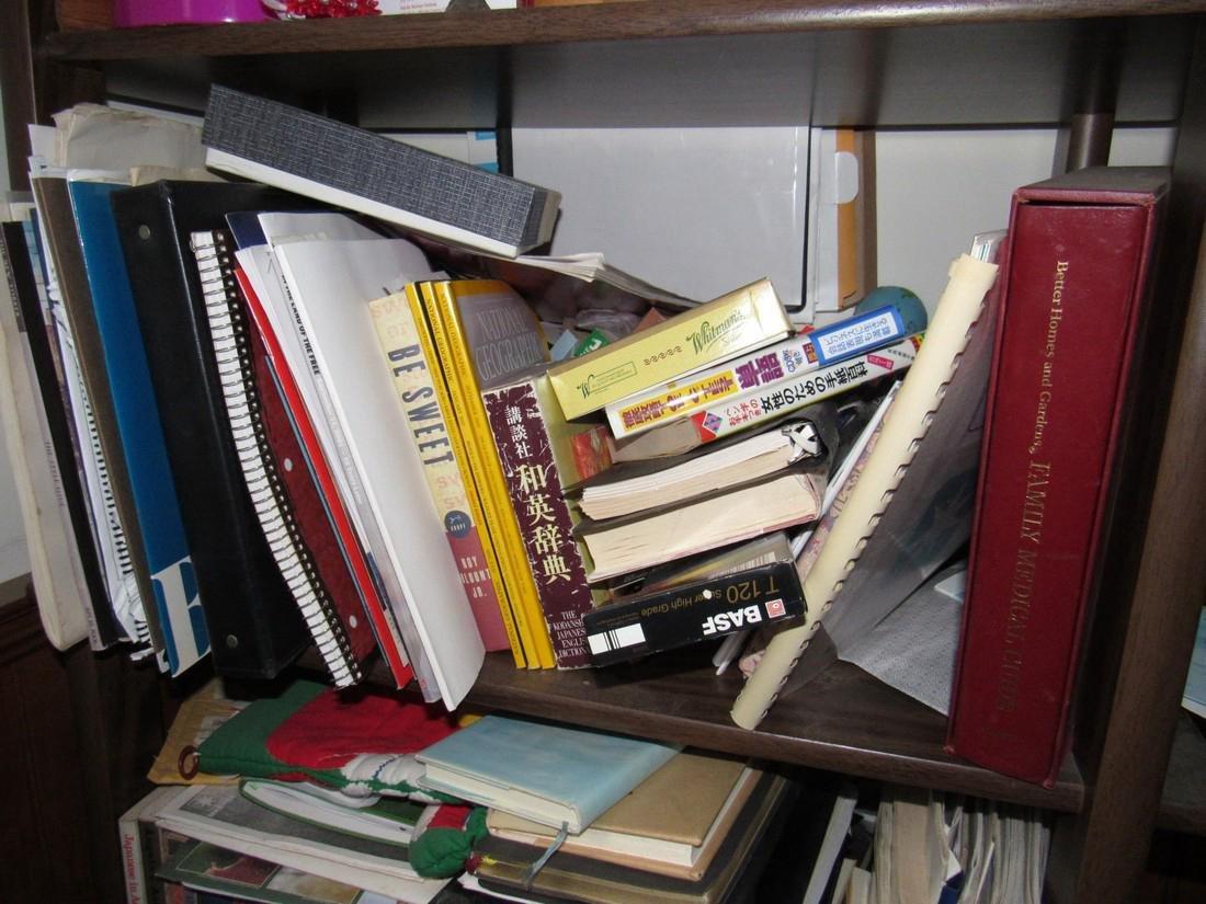Books & Shelf Including Oriental - 3