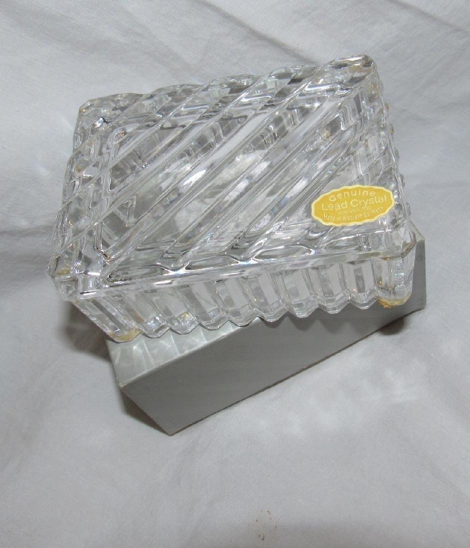 Nachtmann Crystal Vase & Lead Crystal Candy Dish - 2