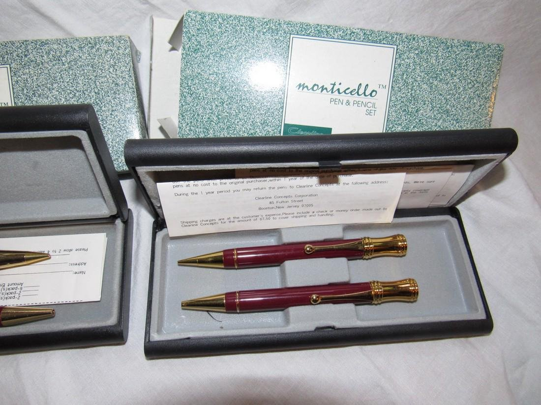 2 Monticello Pen & Pencil Sets CL 835 - 3