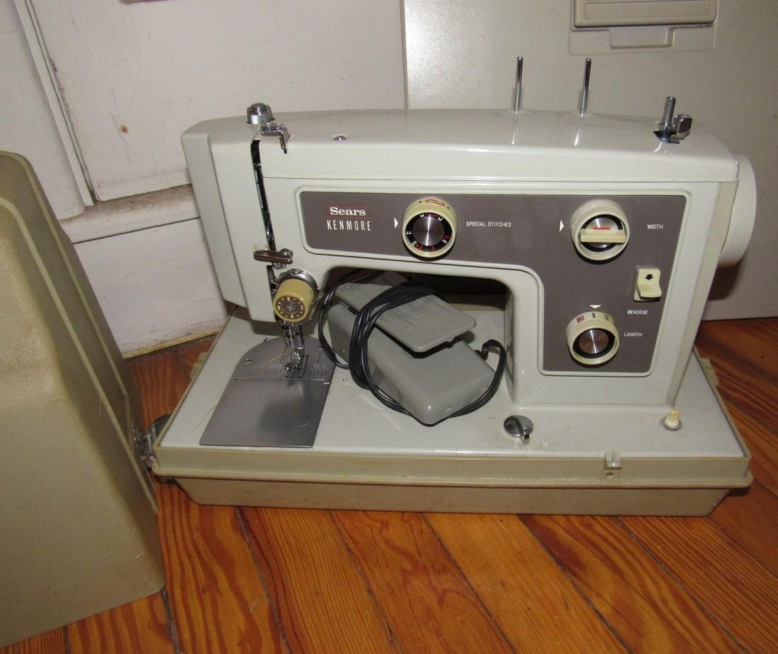 Sears Kenmore Sewing Machine Smith Corona - 2