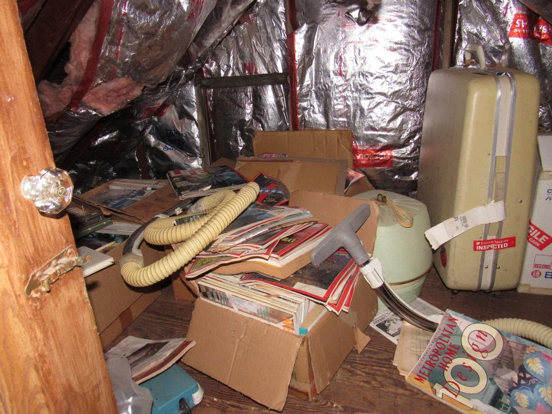 Attic Crawl Space Life Magazines & Misc - 2