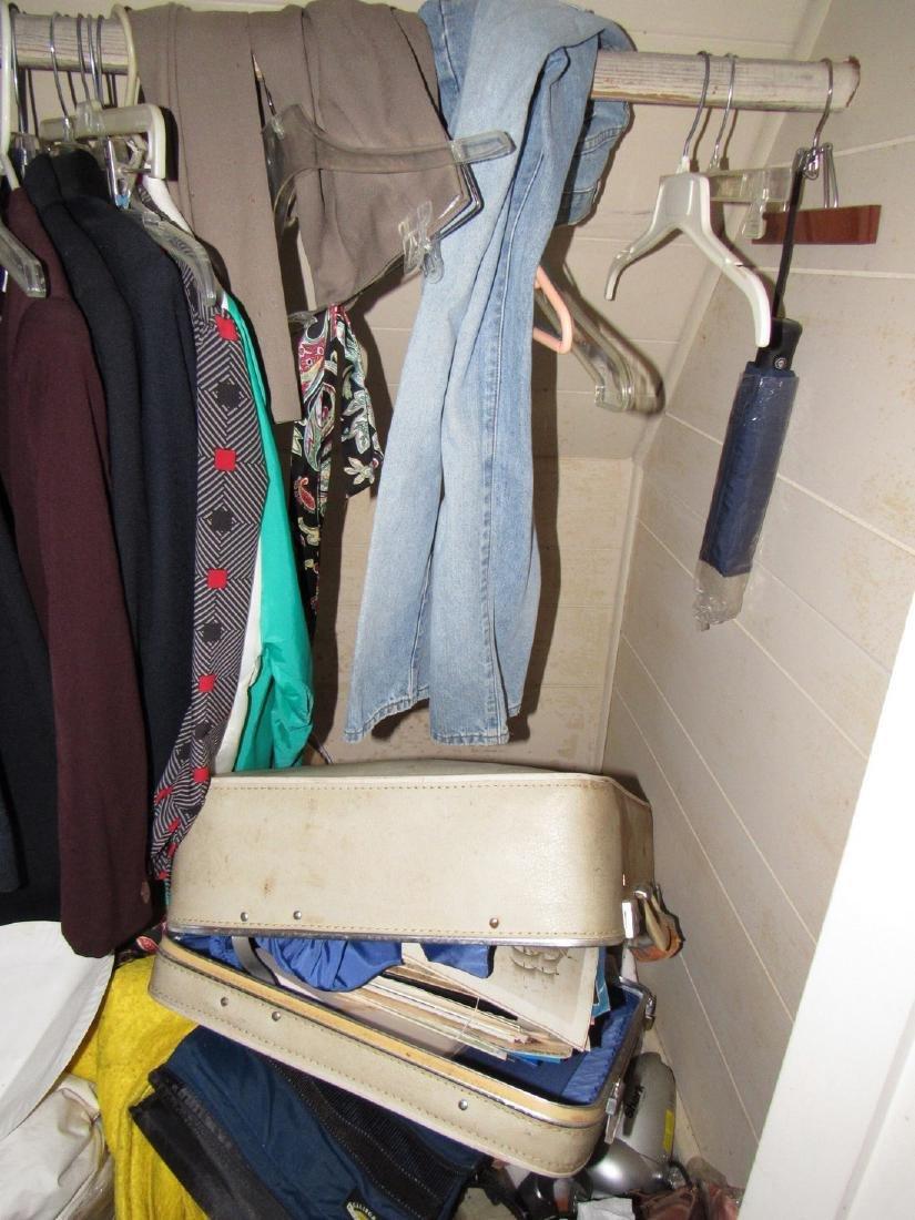 Clothing Closet Contents - 3