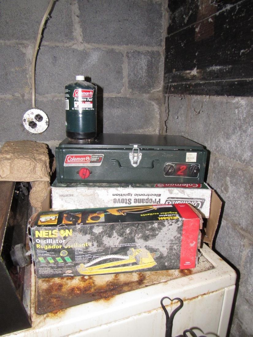 Coleman Grill Sprinkler & Fireplace Set