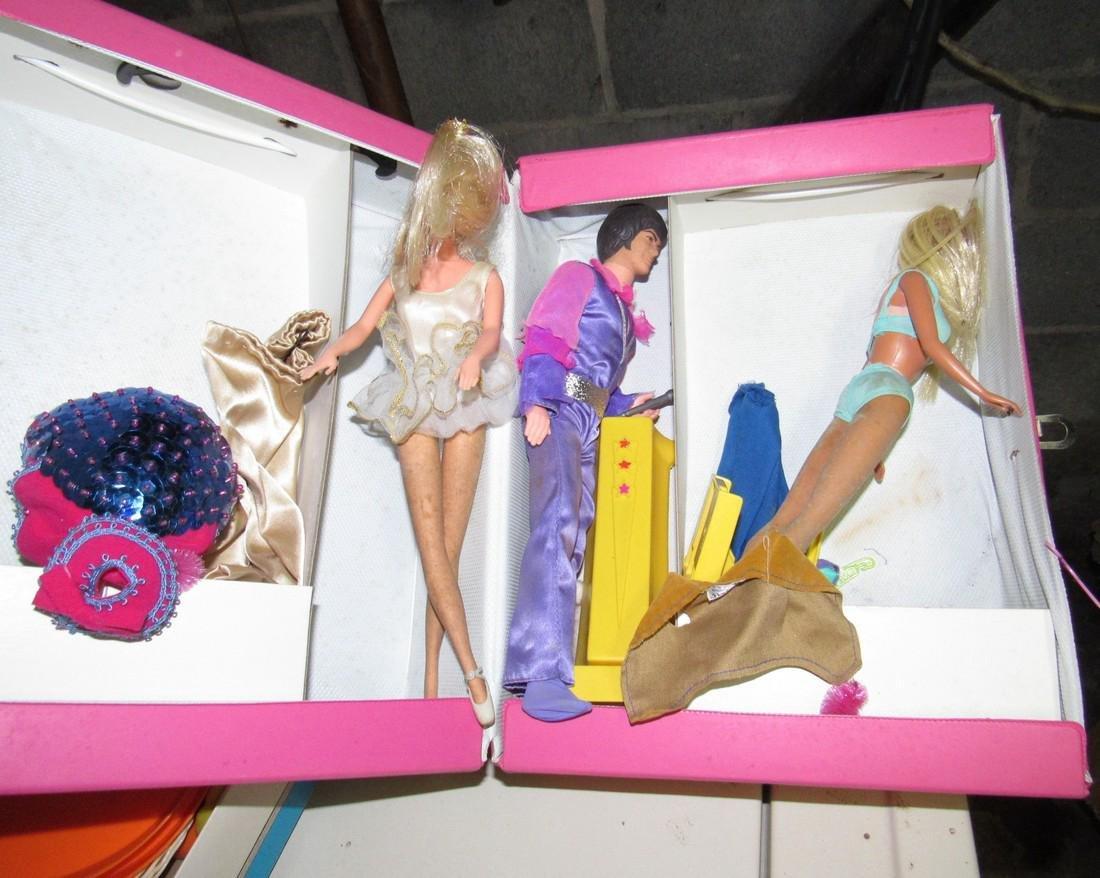Barbie Dolls Case & Misc - 3
