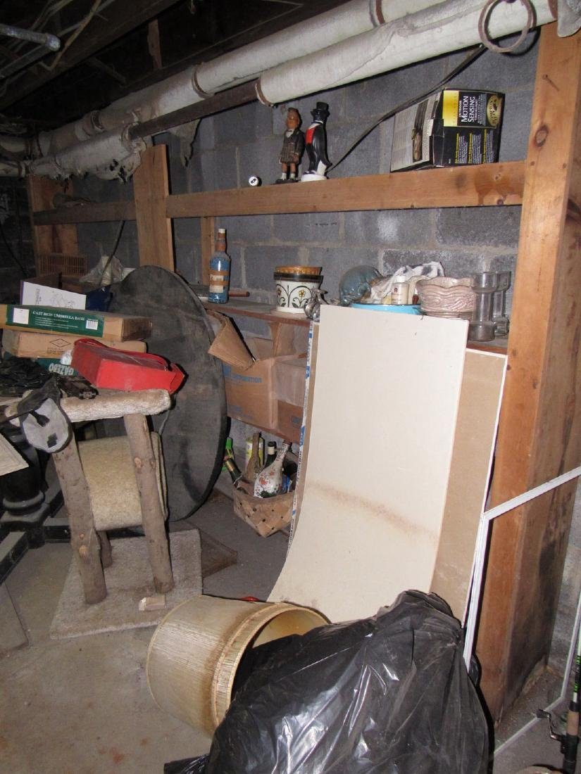 Partial Contents of Basement - 4
