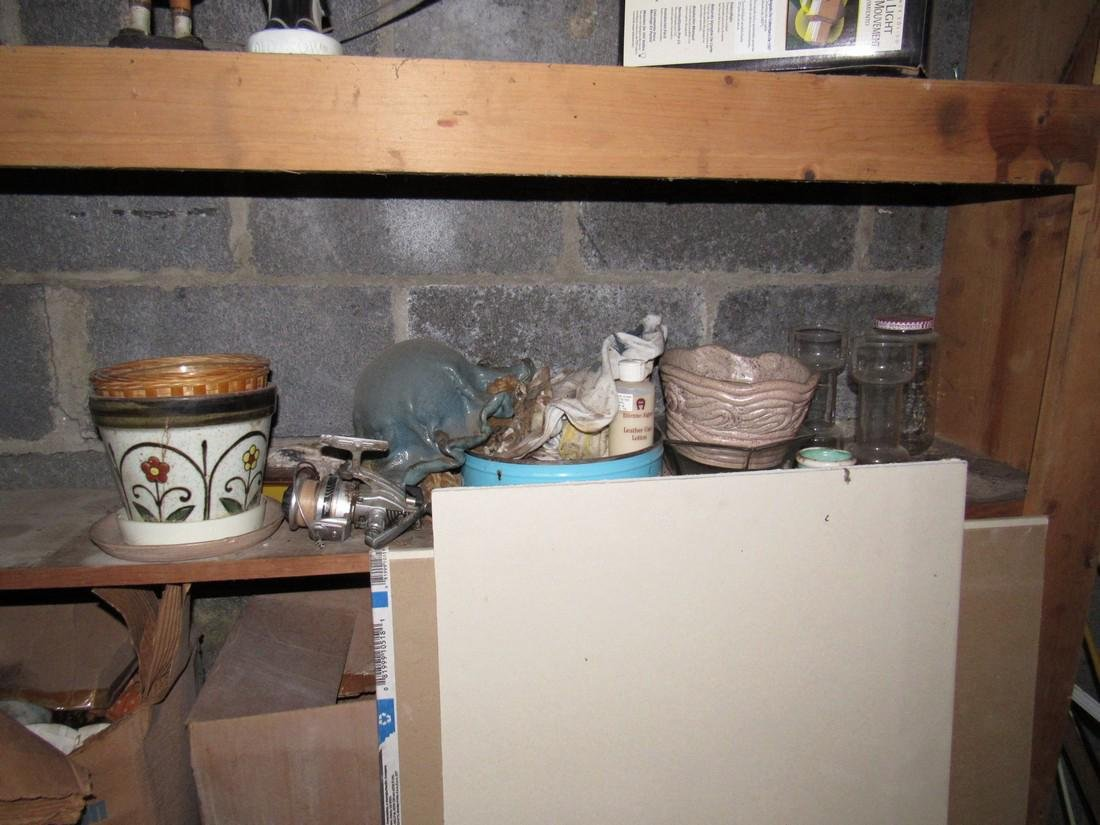 Partial Contents of Basement - 8