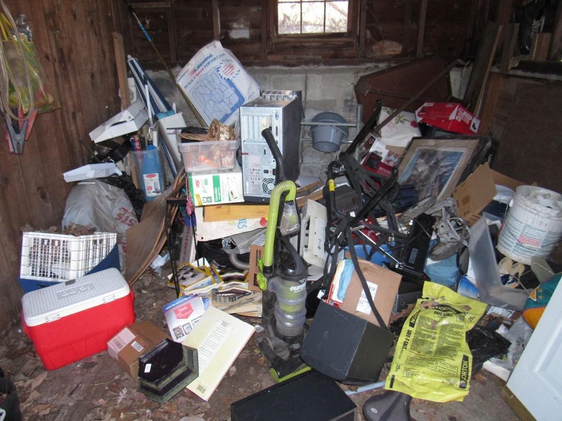 Partial Contents of Garage