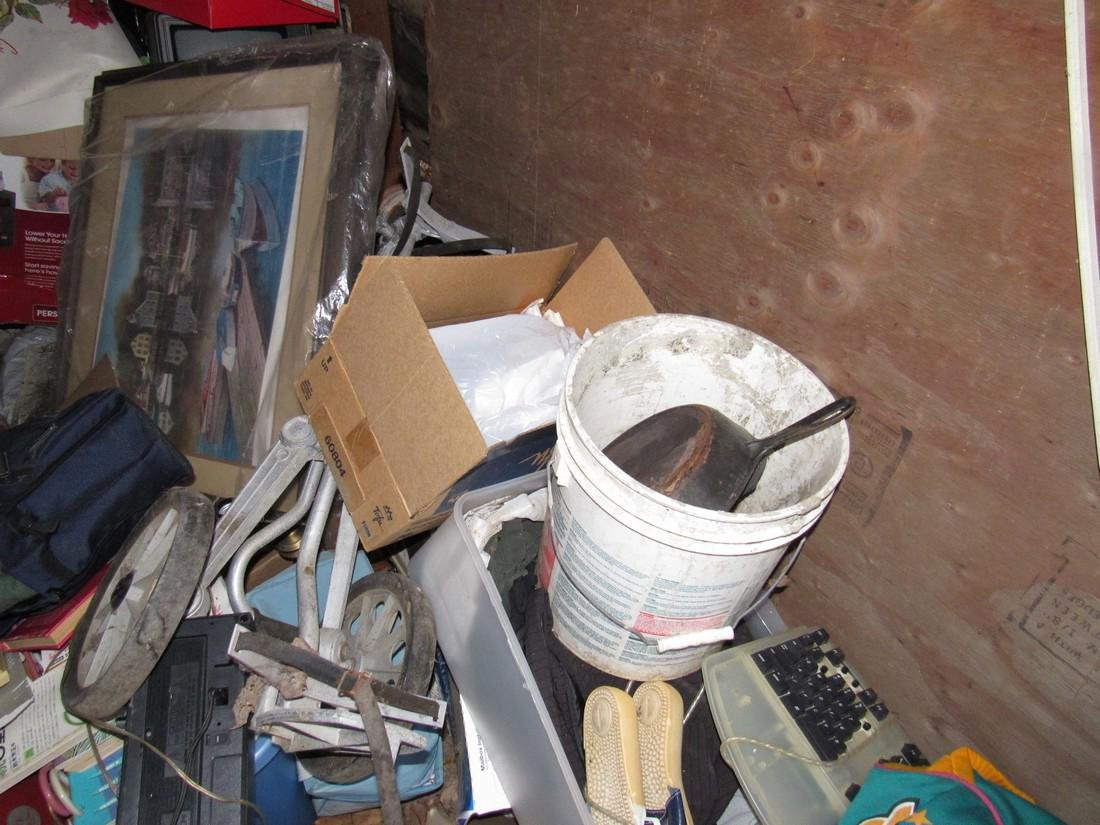 Partial Contents of Garage - 3