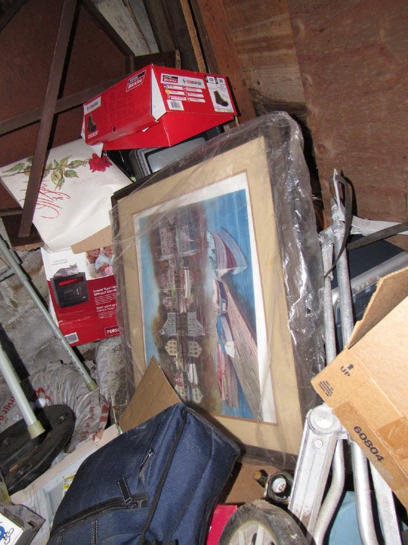 Partial Contents of Garage - 4