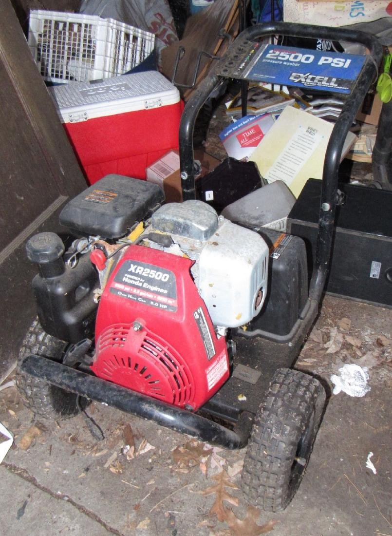 Honda Excell 2500 PSI Pressure Washer XR2500