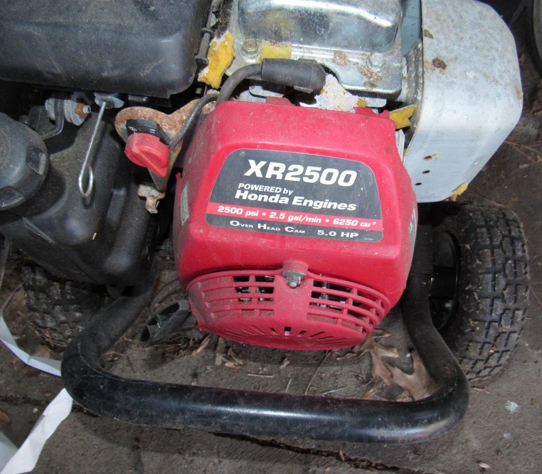 Honda Excell 2500 PSI Pressure Washer XR2500 - 4