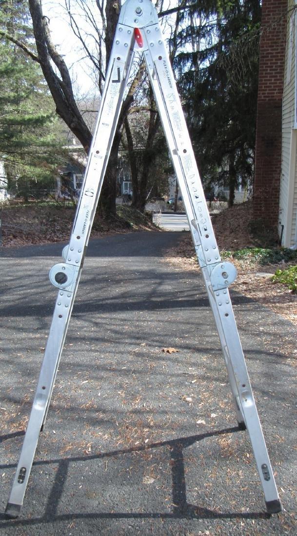 Aluminum Flex-O-Ladder Type II 9'