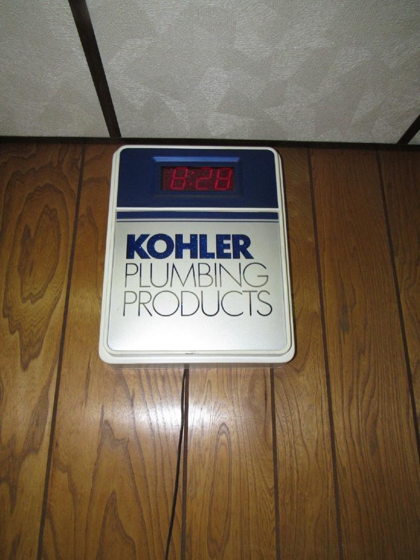 Koehler Plumbing Digital Clock