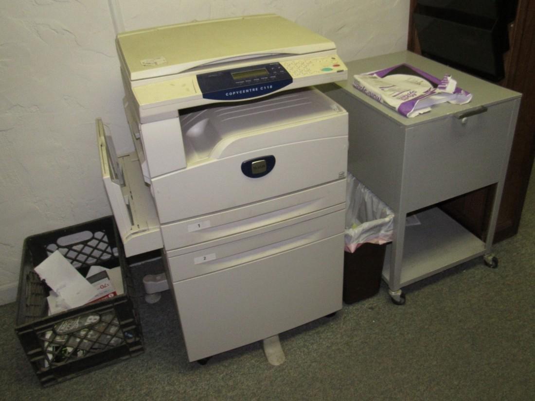 Xerox C118 Copycentre Printer & Cart