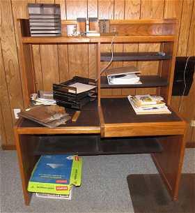 Desk Vintage Gate Valve Files Misc