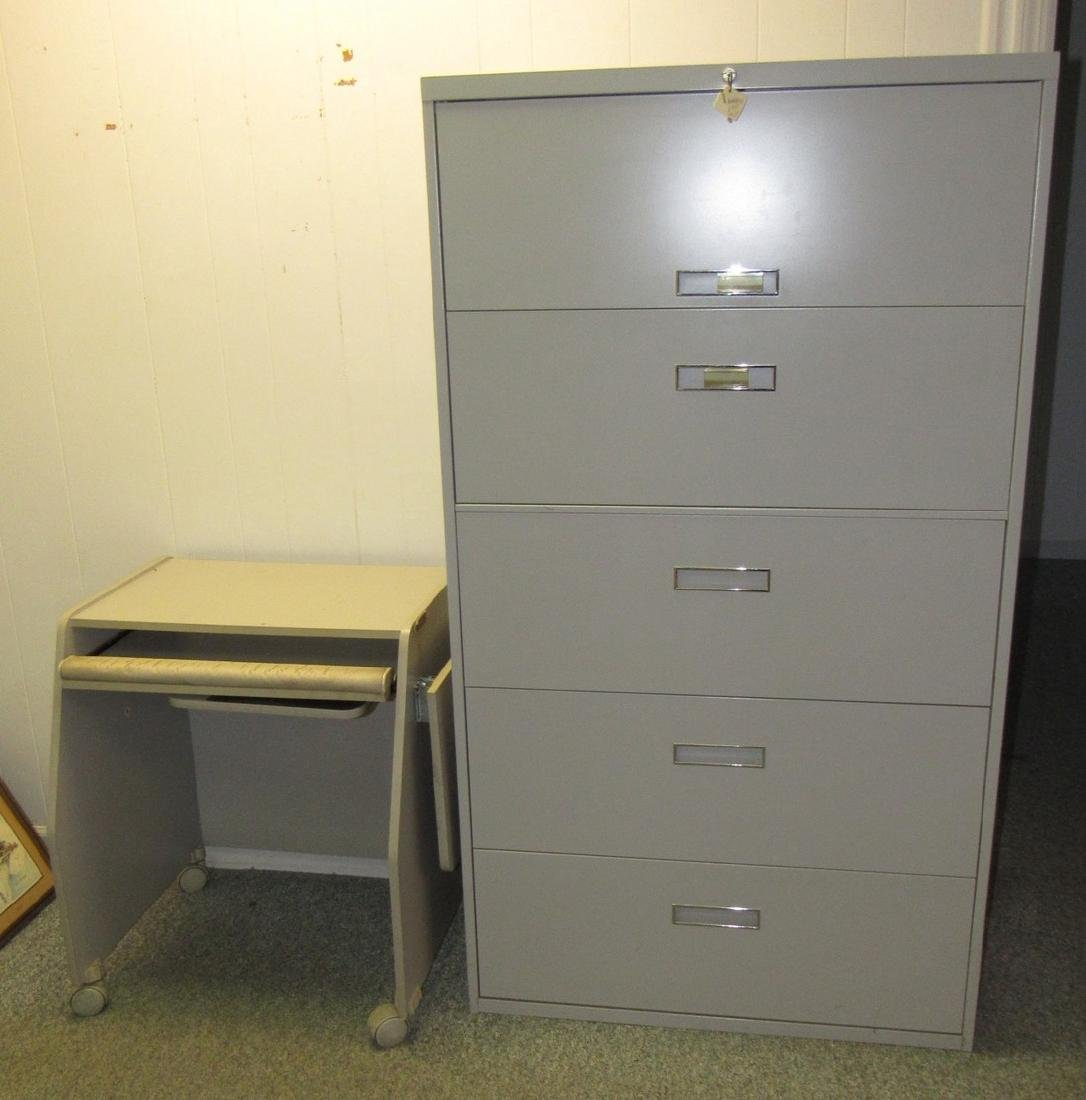 File Cabinet  & Rolling Cart
