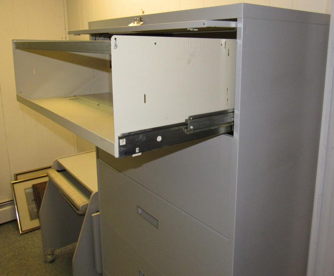 File Cabinet  & Rolling Cart - 2