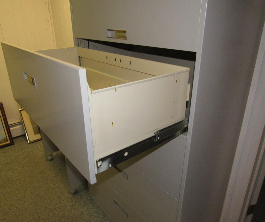 File Cabinet  & Rolling Cart - 3