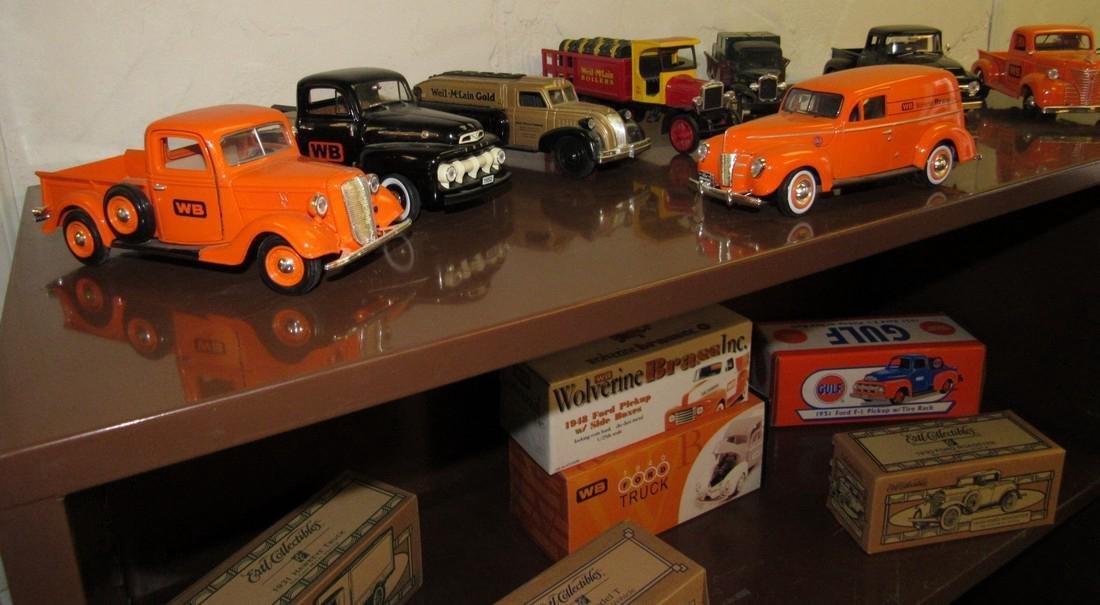 27 Wolverine Brass Ertl Diecast Toy Cars & Trucks - 2