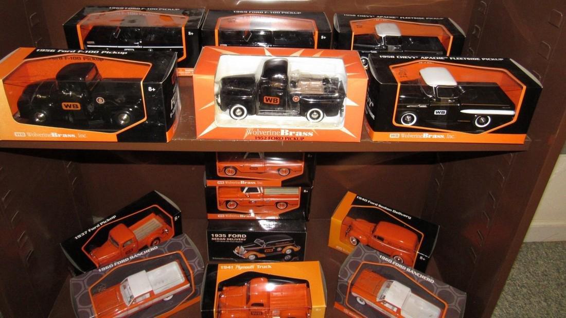 27 Wolverine Brass Ertl Diecast Toy Cars & Trucks - 6