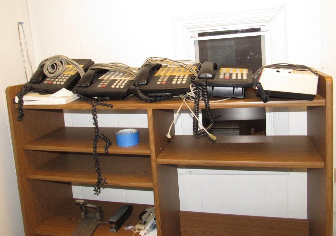 Desk Telephones APC Back Ups & 2 Chairs - 2