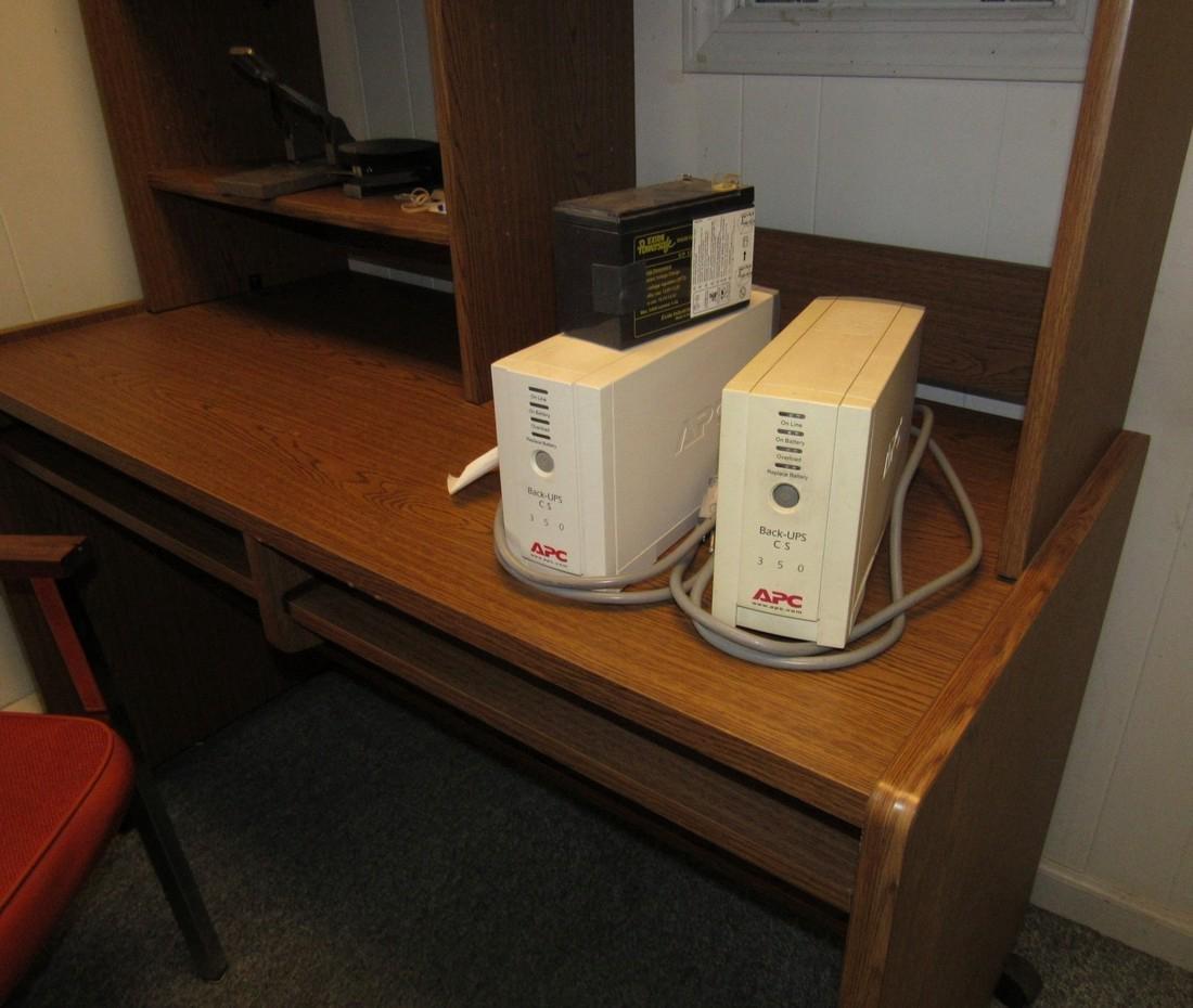 Desk Telephones APC Back Ups & 2 Chairs - 3