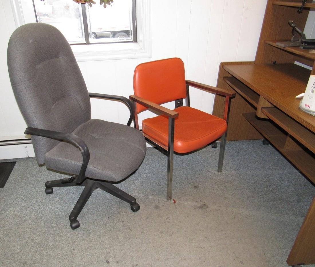 Desk Telephones APC Back Ups & 2 Chairs - 4