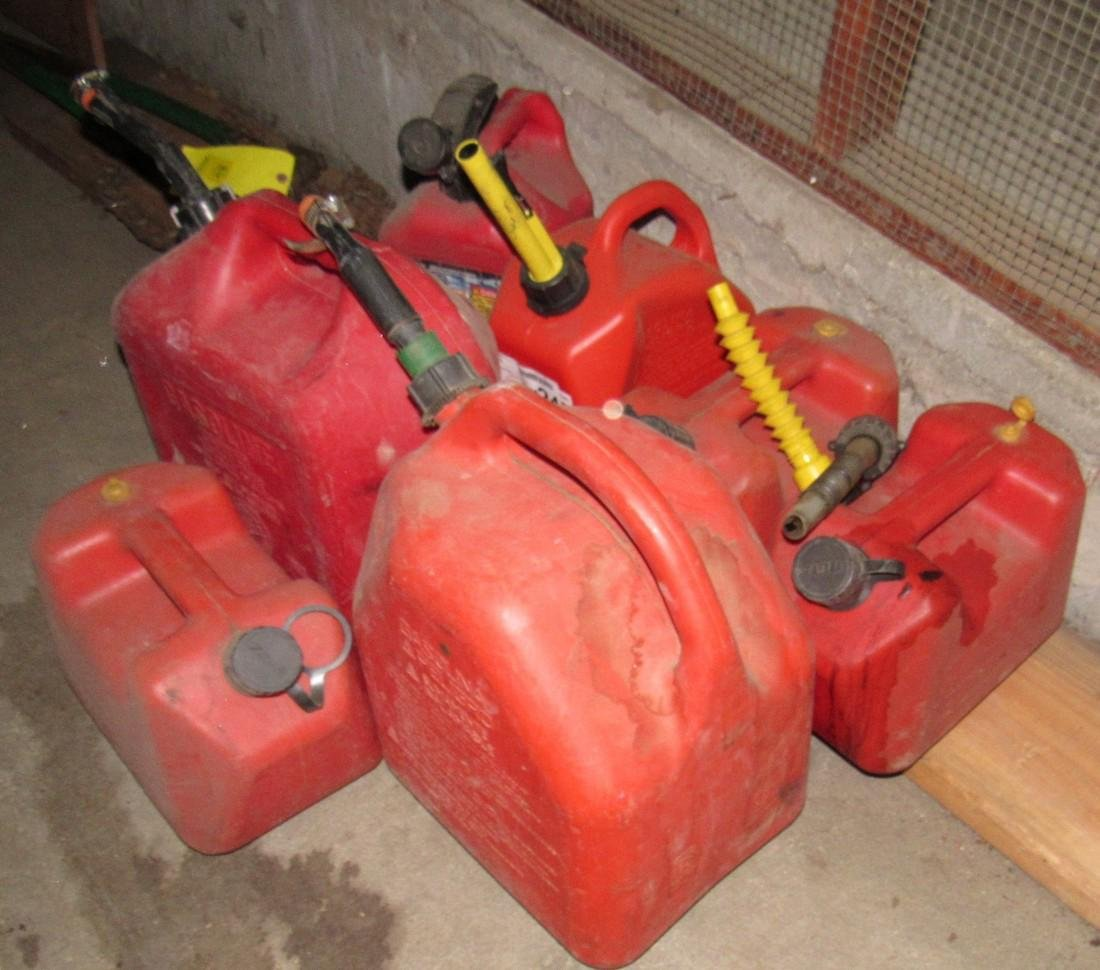 Lot of Gas Cans - 2