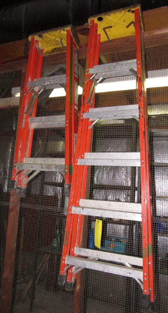 4' & 6' Fiberglass Step Ladders
