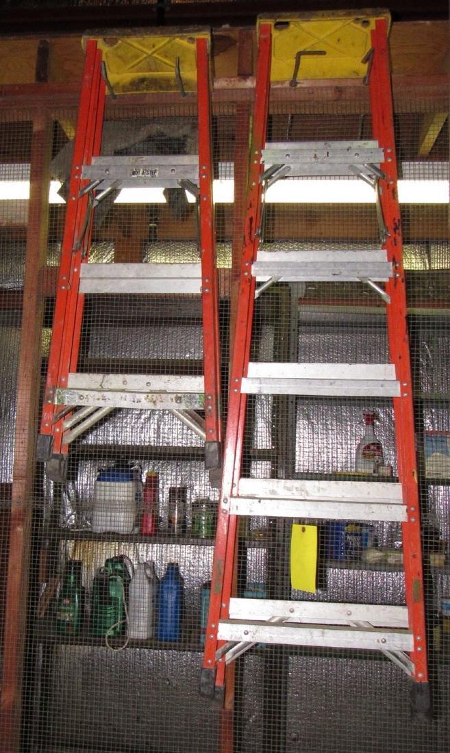 4' & 6' Fiberglass Step Ladders - 2
