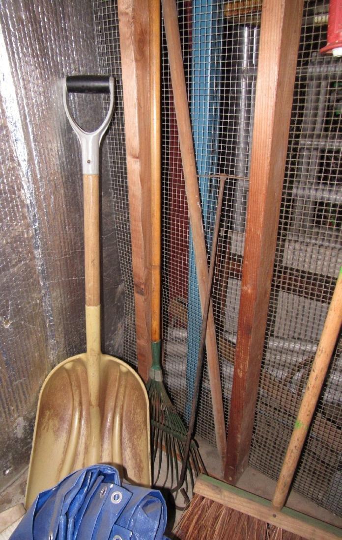 Snakes Hedge Trimmers Sledge Hammer Tarp - 5